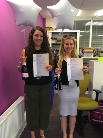 Lara L6 and Jenna L4 A and G Maidenhead Council